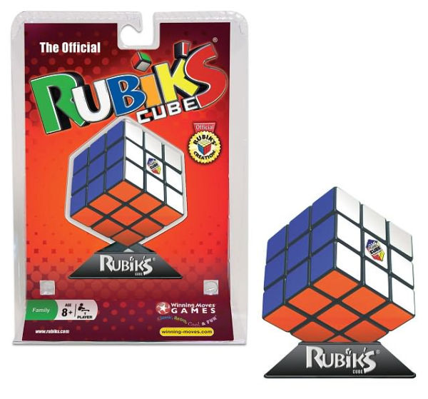 Rubiks Cube 3x3 Puzzle Cube with Stand