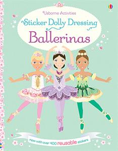 Sticker Dolly Dressing Ballerinas - an Activity Book by Usborne