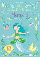 Little Sticker Dolly Dressing Mermaids - an Activity Book by Usborne