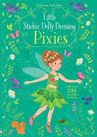 Little Sticker Dolly Dressing Pixies - an Activity Book by Usborne
