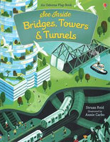 See Inside Bridges, Towers & Tunnels by Usborne