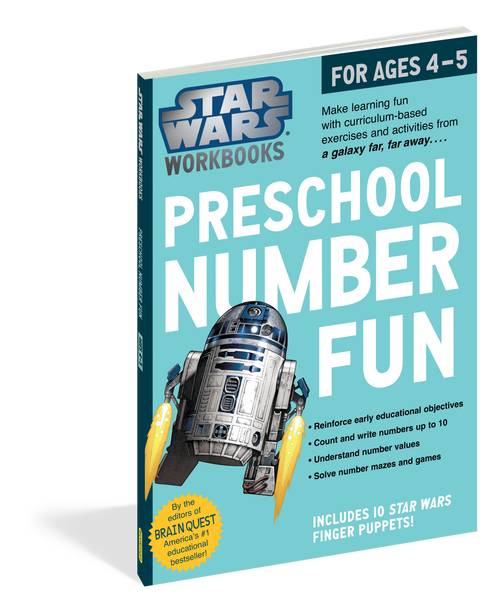 Star Wars Workbook: Preschool Number Fun Workbook