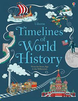 Timelines of World History Book by Usborne