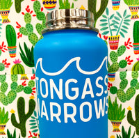 """Tongass Narrows"" White Diecut Vinyl Sticker - Local Exclusive"