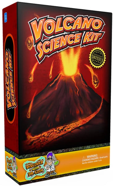 Ultimate Volcano Science Kit — Craft a Volcano and Make It Erupt