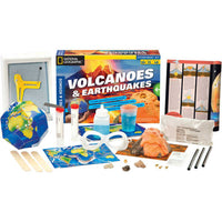 Volcanoes & Earthquakes (Science Kit by Thames & Kosmos)