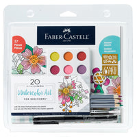 20 Minute Studio Watercolor Art FOR BEGINNERS (Adults & Youth) by Faber Castell