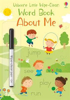 Little Wipe-Clean Word Book: About Me by Usborne
