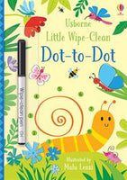 Little Wipe-Clean Dot-to-Dot Activity Book by Usborne