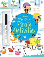 Wipe-Clean Pirate Activities - Activity Book by Usborne