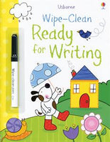 Wipe-Clean Ready for Writing - Activity Book by Usborne