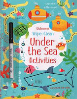 Wipe-Clean Under the Sea - Activity Book by Usborne