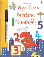 Wipe-Clean Writing Numbers Activity Book by Usborne