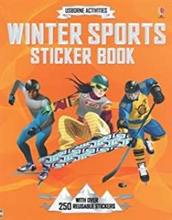 Winter Sports Sticker Book- an Activity Book by Usborne
