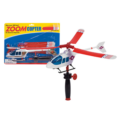 Zoom Copter (Helicopter Zip Pull Cord)