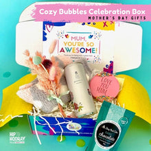 Load image into Gallery viewer, MOTHER'S DAY 'COZY BUBBLES' CELEBRATION BOX - LIMITED RELEASE