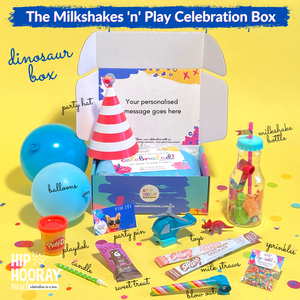THE 'MILKSHAKE 'N' PLAY' CELEBRATION BOX