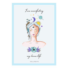 Load image into Gallery viewer, MANIFESTING YOUR DREAM LIFE AFFIRMATION CARDS DECAL SET