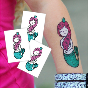 TEMPORARY TATTOO IN 'MERMAID'