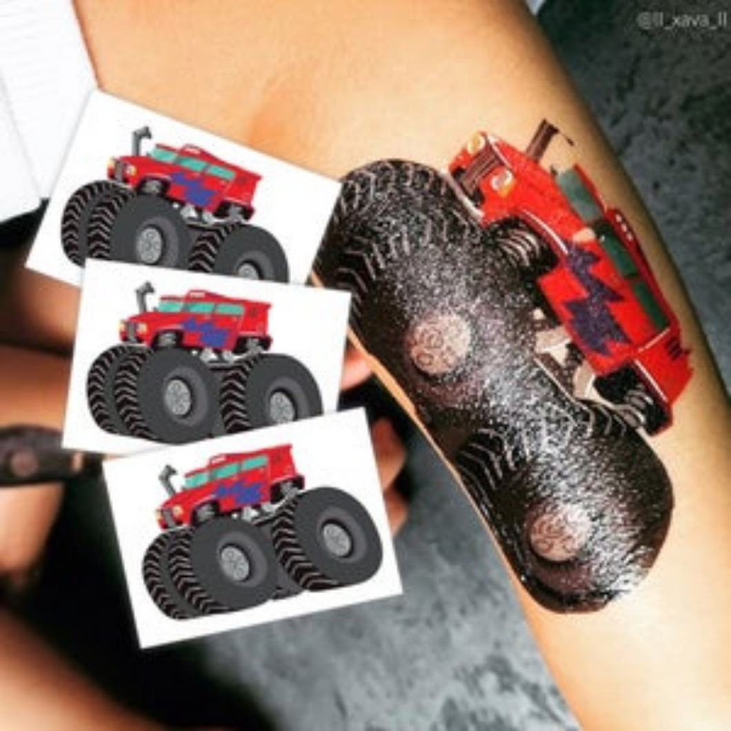 TEMPORARY TATTOO IN 'MONSTER TRUCK'