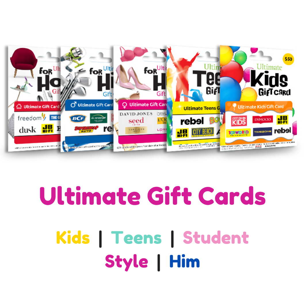ULTIMATE GIFT CARDS