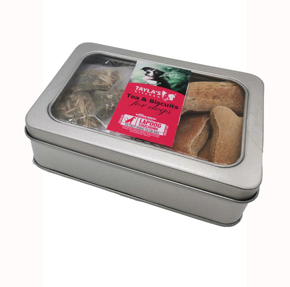 Lapdog Souchong Tea & Basil Biscuits for Dogs 200g