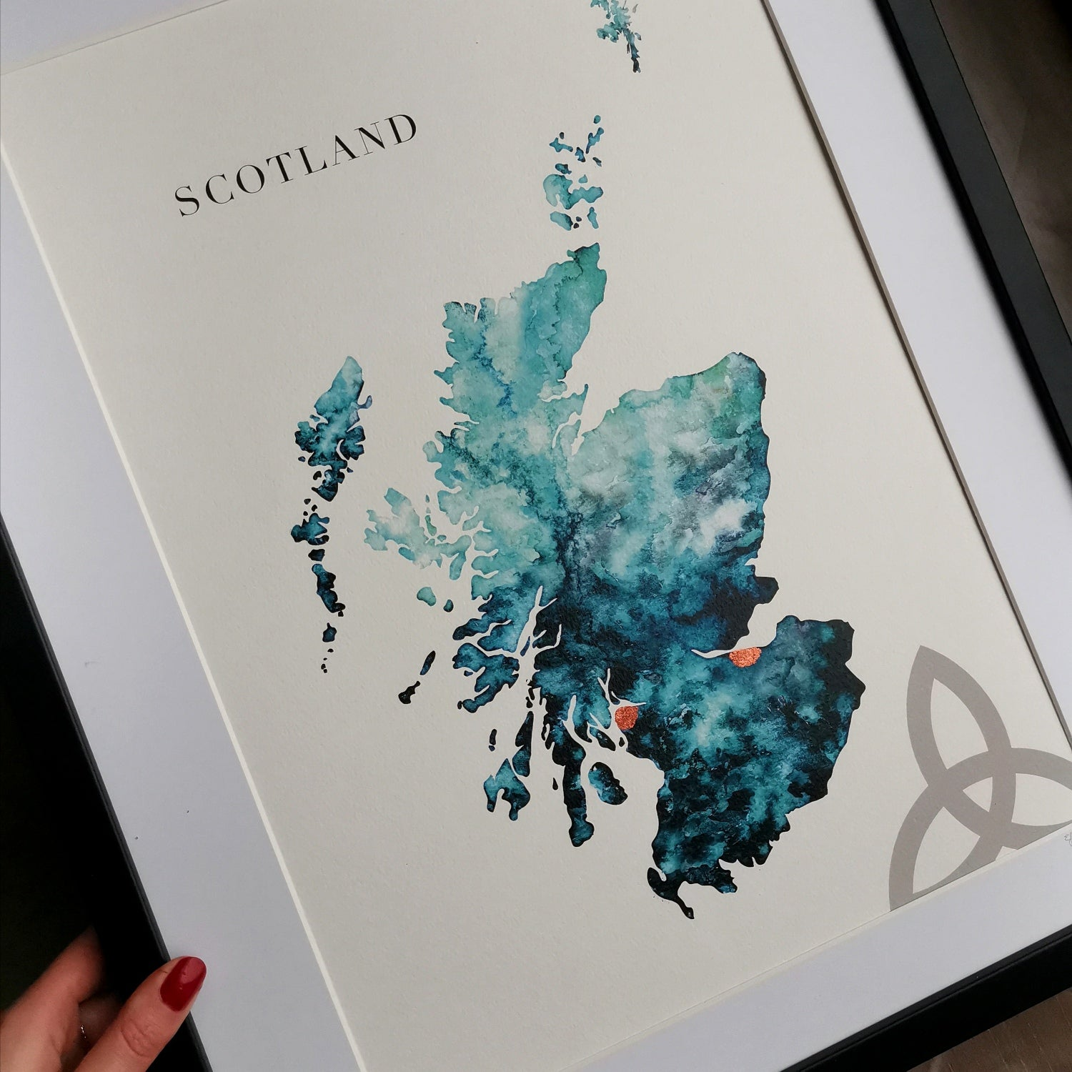 Scotland Custom Gift Art