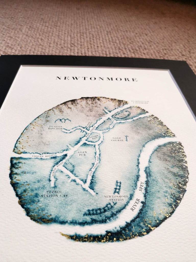 newtonmore-map-ejaydesign
