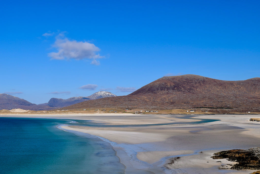 Luskentyre beach in the Outer Hebrides