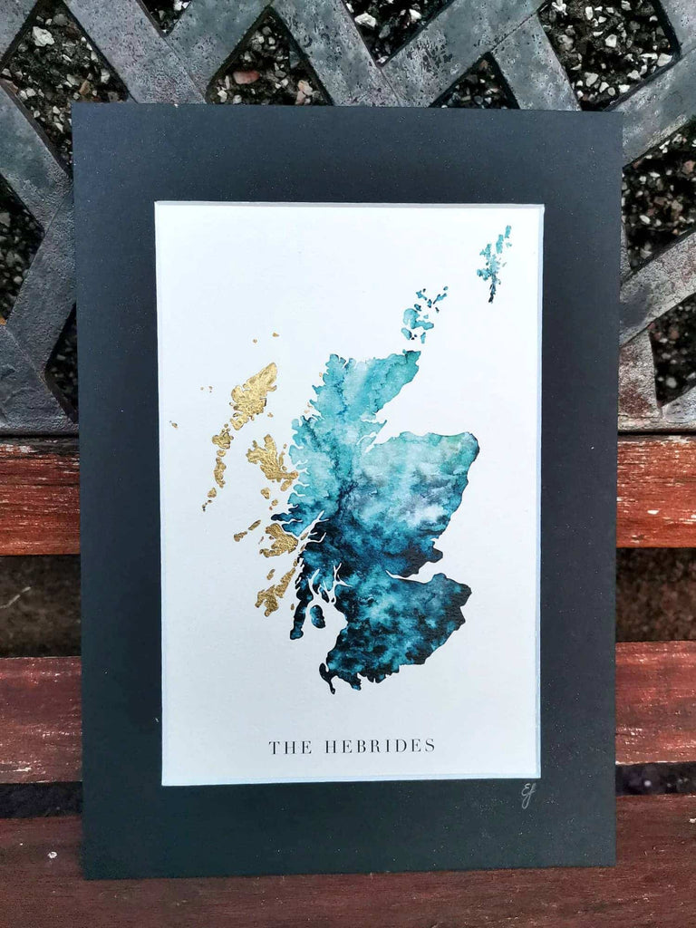 Inner-Hebrides-Watercolour-Map