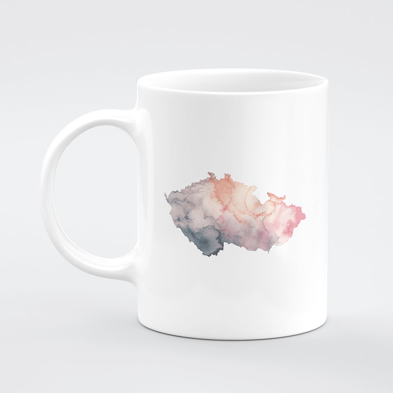 czeck republic Custom Watercolour Mug