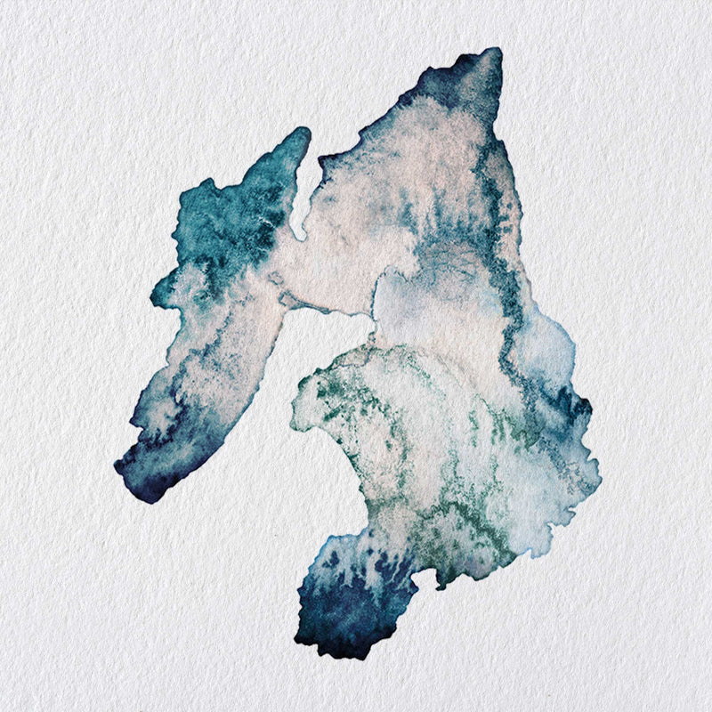 Isle of Islay Watercolour Map - Scotland