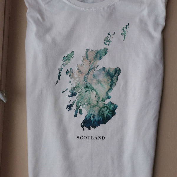 Scottish Watercolour T-Shirt