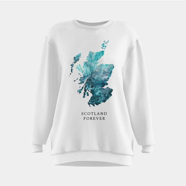 Custom Scotland Map Clothing