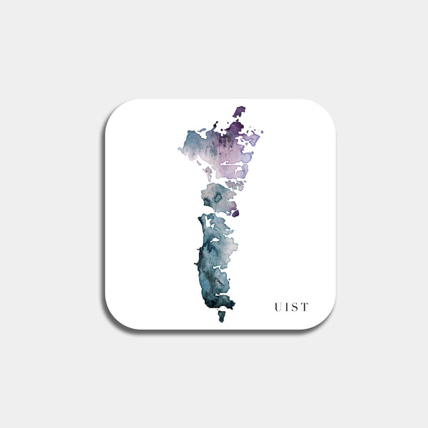 UIST watercolor map coaster