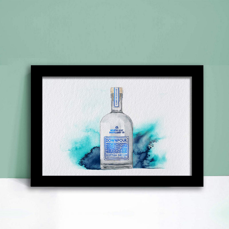 Downpour Scottish Gin - EJayDesign