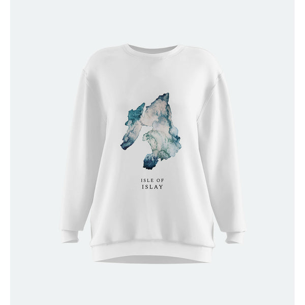 Isle of Islay Watercolour Map Clothing
