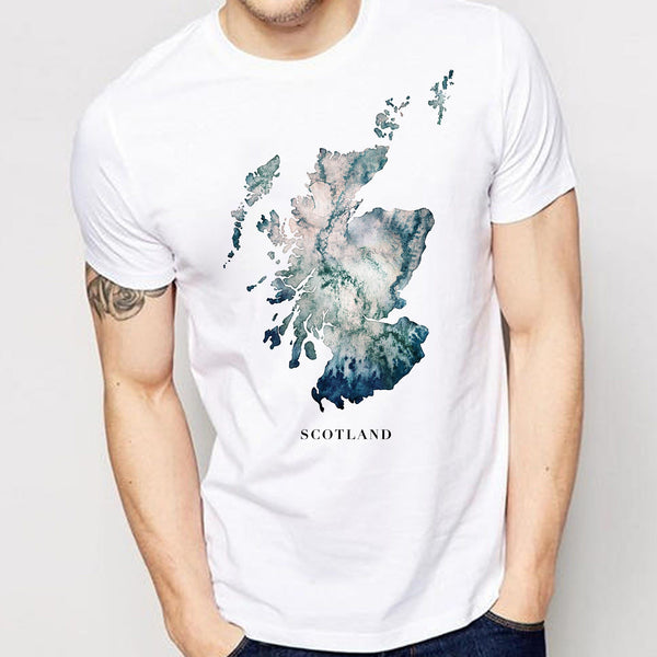 Scotland T-Shirt Mens Gift