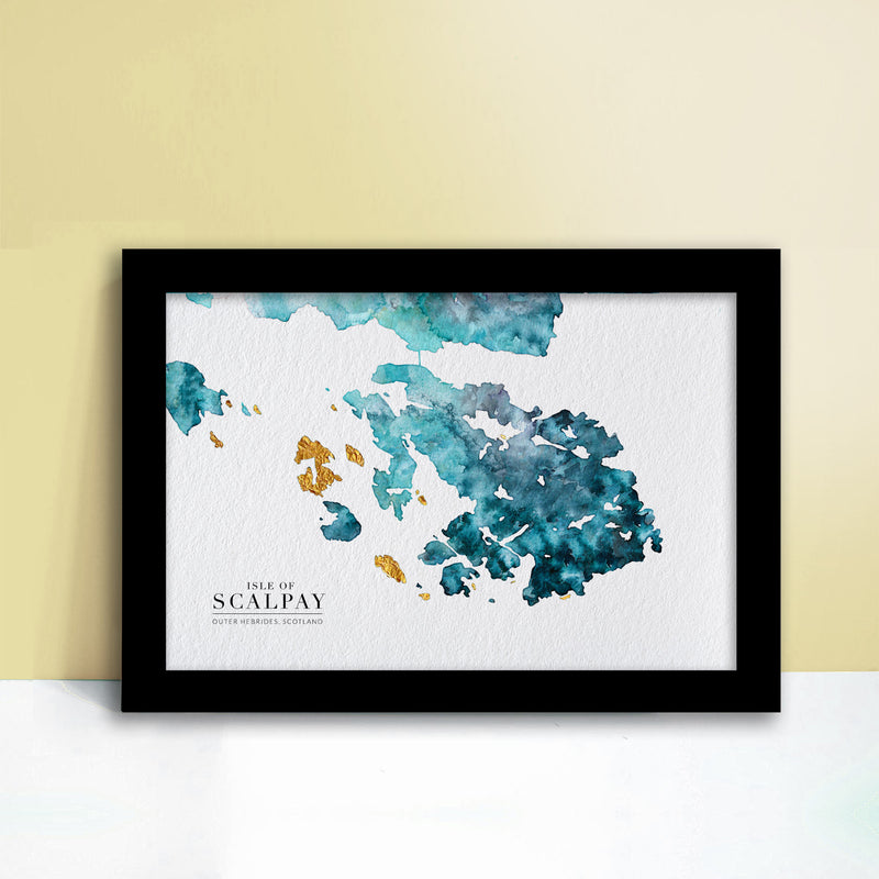 Isle-of-Scalpay-Watercolour-Map