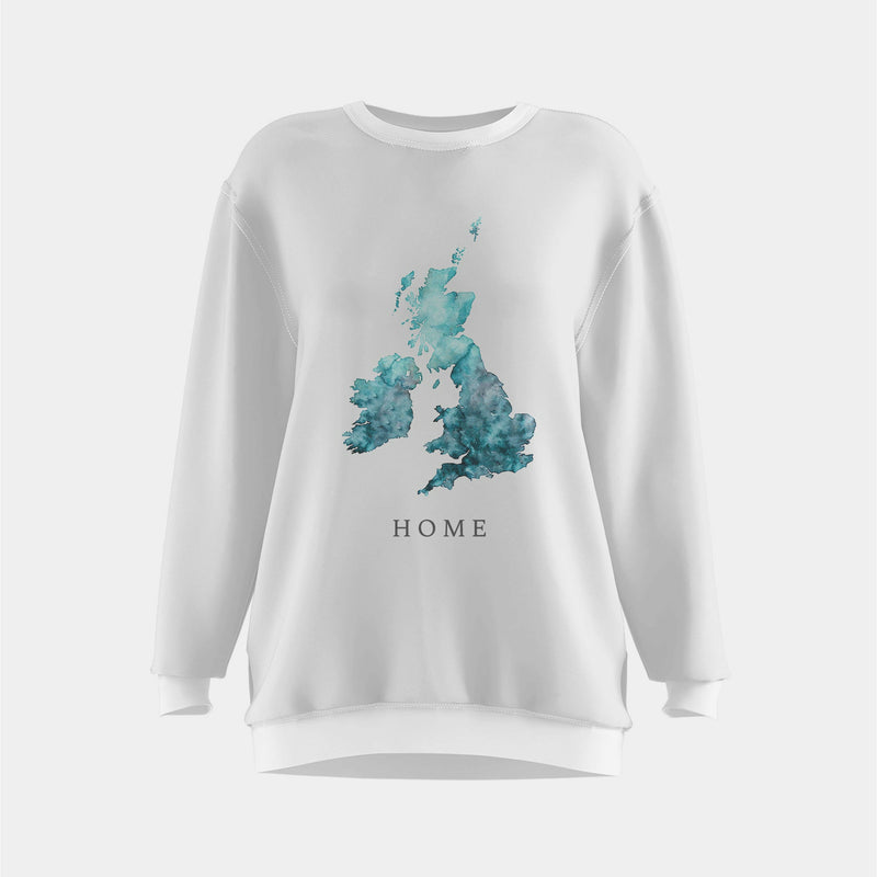 UK watercolour t-shirt