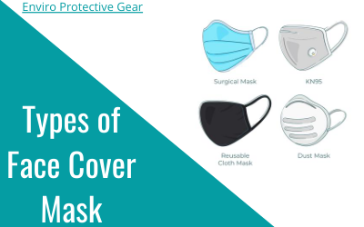 Face cover mask - types