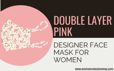 face cover mask - pink colour