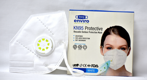 KN95/FFP2 FACE MASK WITH RESPIRATOR