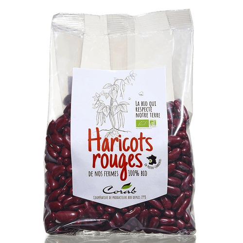 Haricots rouges bio (origine France) 500 g