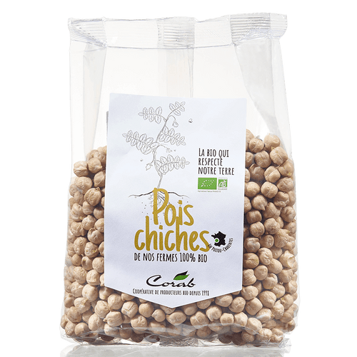 Pois chiche bio (origine France) 500 g