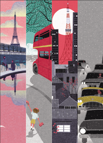 Cities In Seasons By Ryo Takemasa