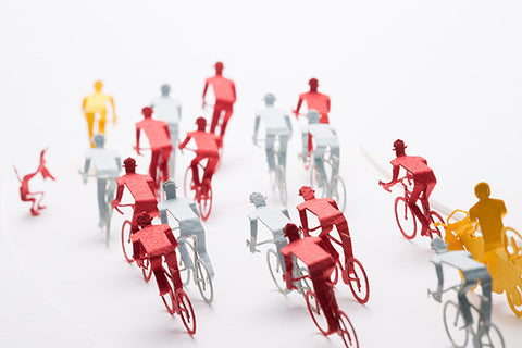 Architectural Model Cycle Road Race