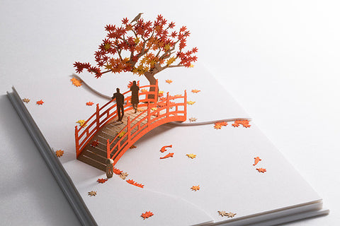 Architectural Model Fall Foliage