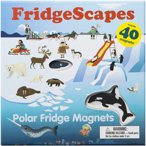 FridgeScapes: Polar Fridge Magnets