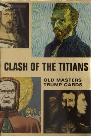 Clash of the Titians: Old Masters Trump Card Game